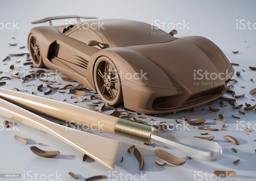 Automotive Design stock photo