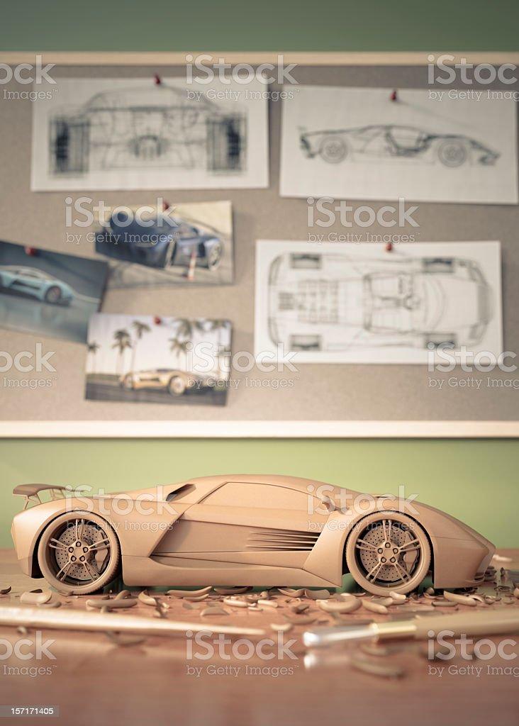 Automotive Design stock photo