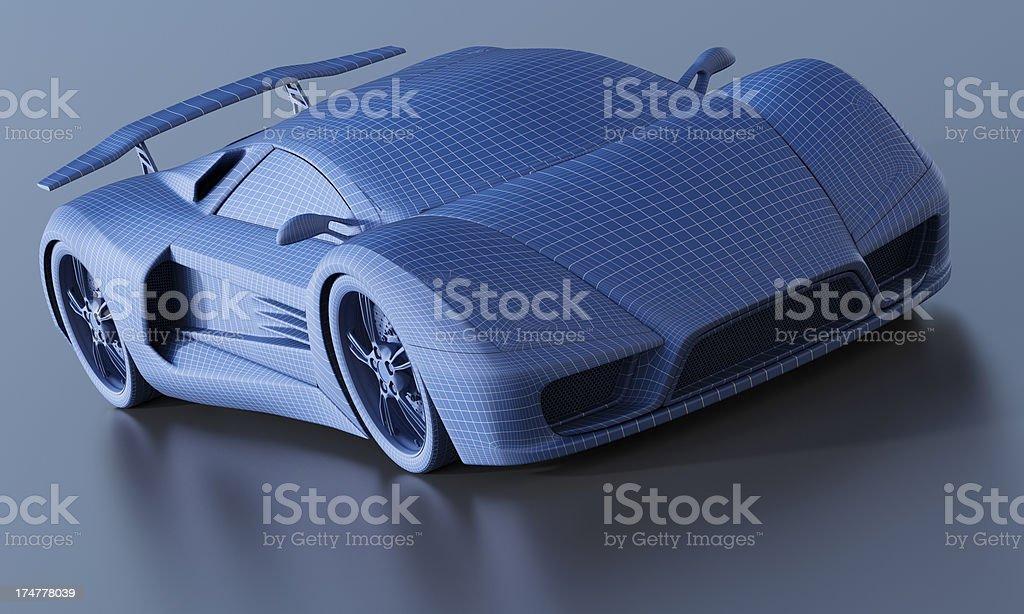 Automotive Design royalty-free stock photo
