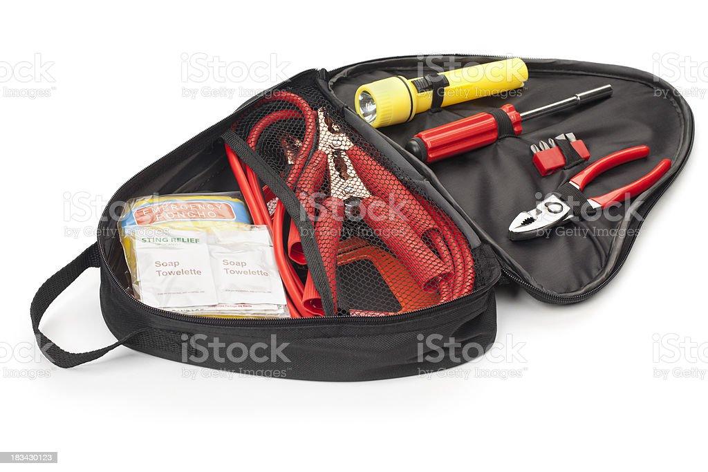Automotive Emergency Tool Kit royalty-free stock photo