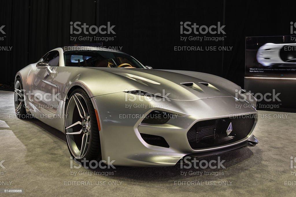 2016 VLF Automotive (Fisker) Force 1 stock photo
