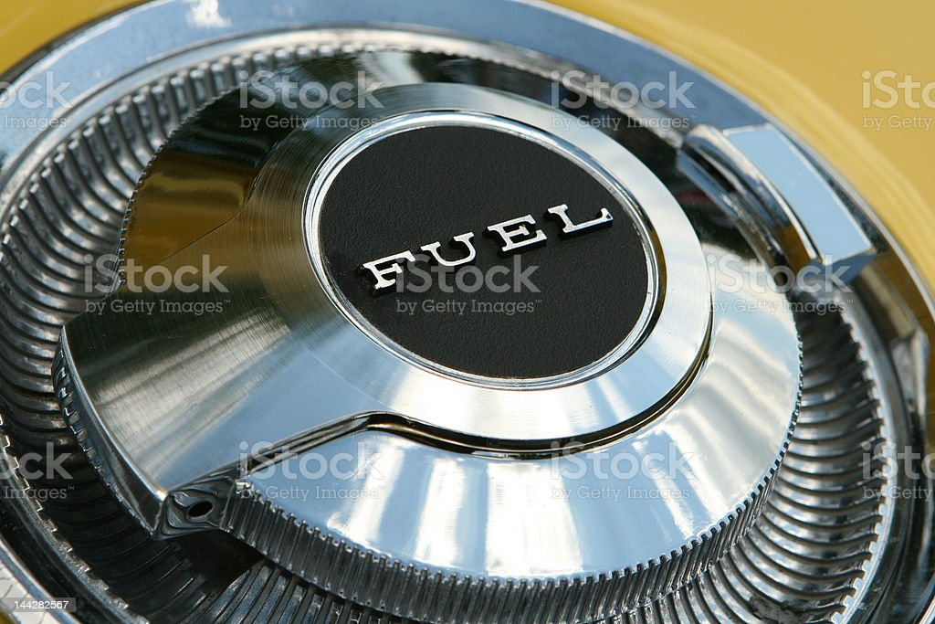 Automotive Fuel Cap royalty-free stock photo