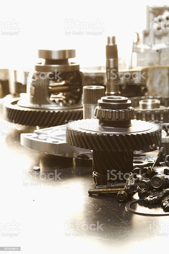 automotive gear. royalty-free stock photo