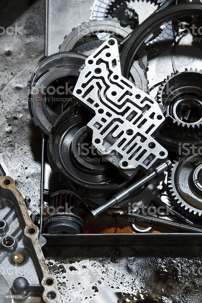 automotive gears. royalty-free stock photo