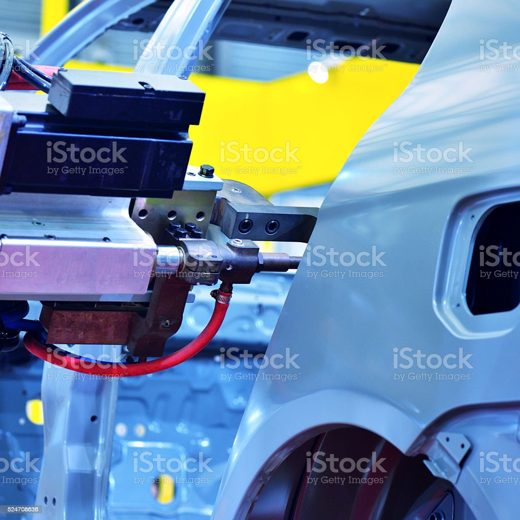 Automotive Manufacturing stock photo
