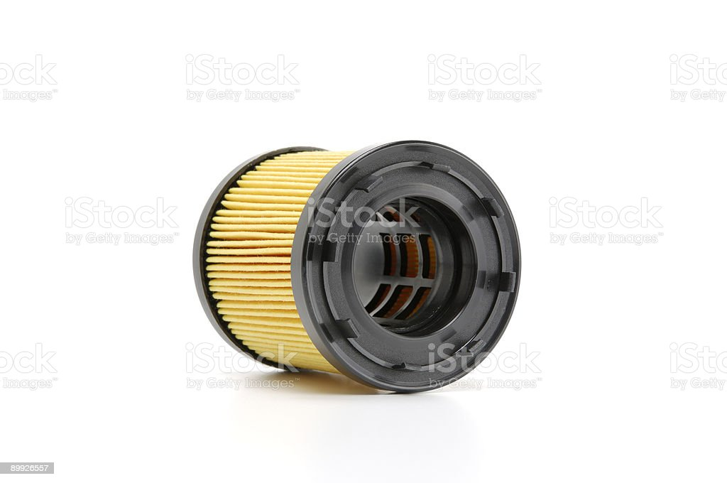 Automotive Oil Filter royalty-free stock photo