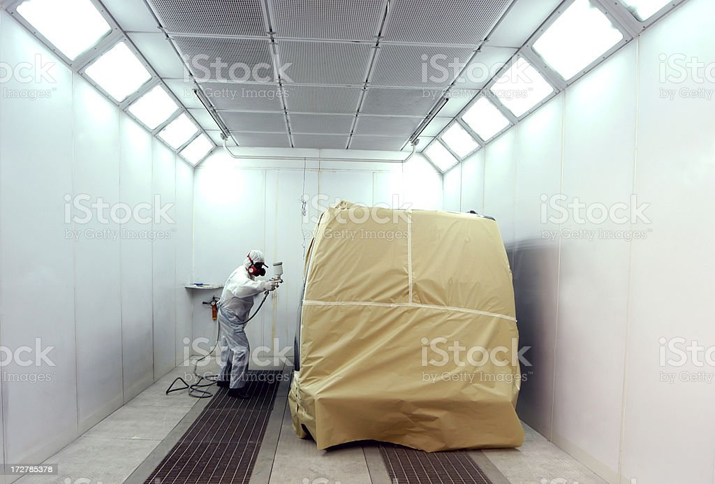 Automotive Paint series stock photo