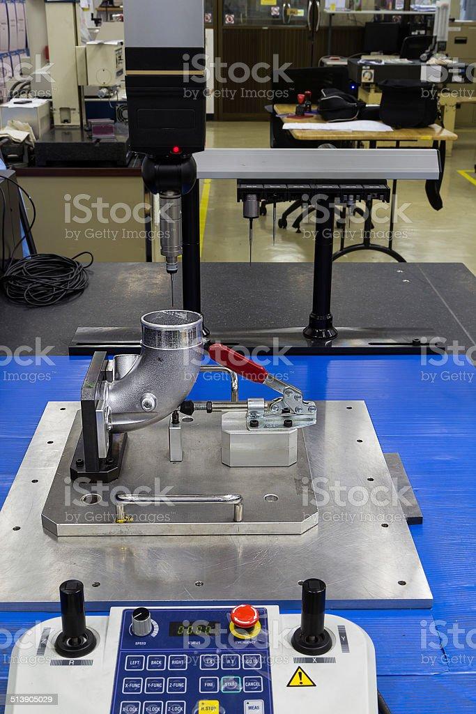 automotive part inspection stock photo