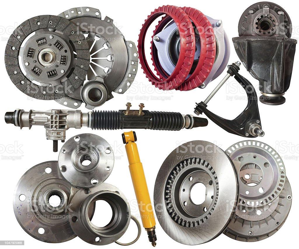 automotive parts stock photo
