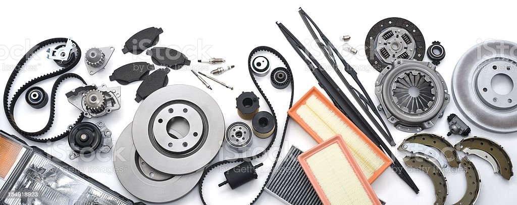 Automotive Parts stock photo