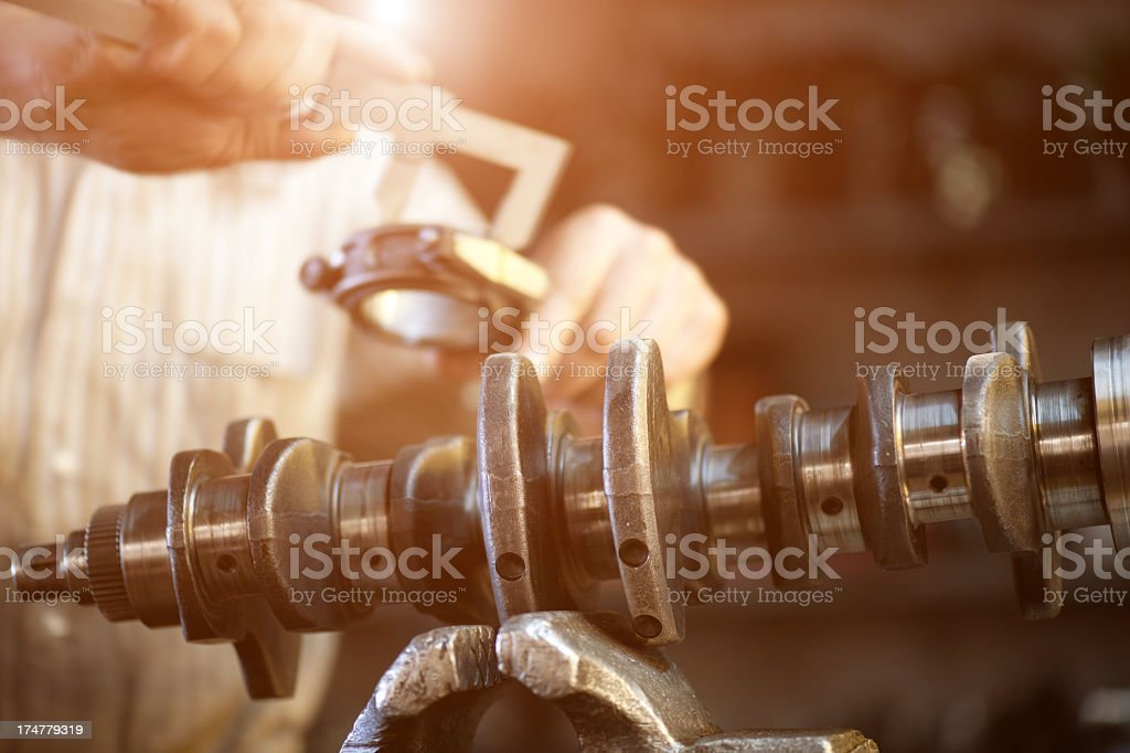 Automotive transmission gearbox stock photo