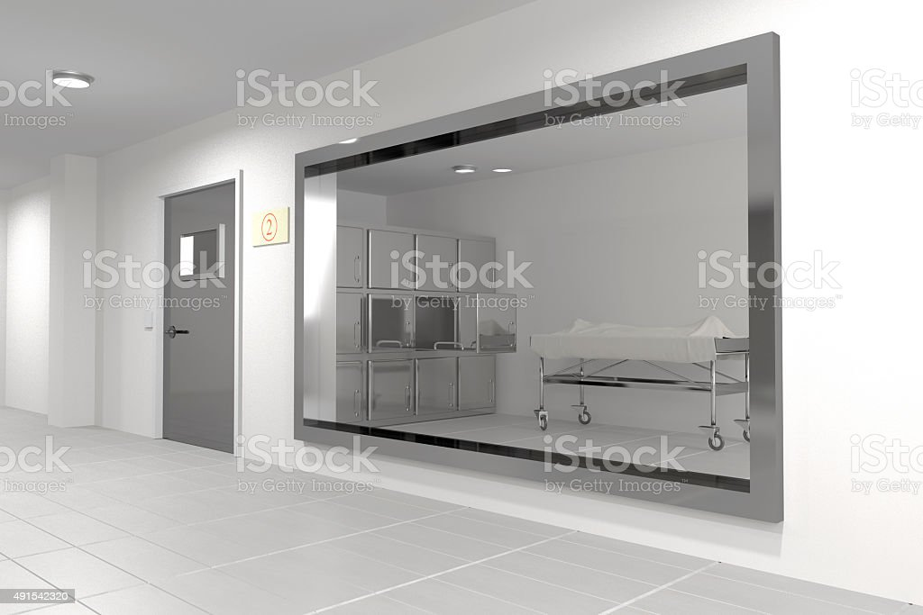 autopsy room stock photo