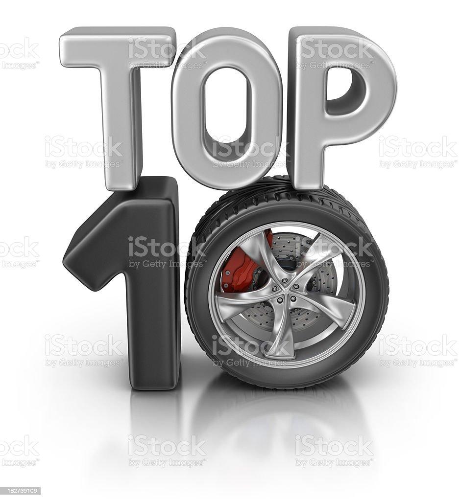 autos top ten stock photo