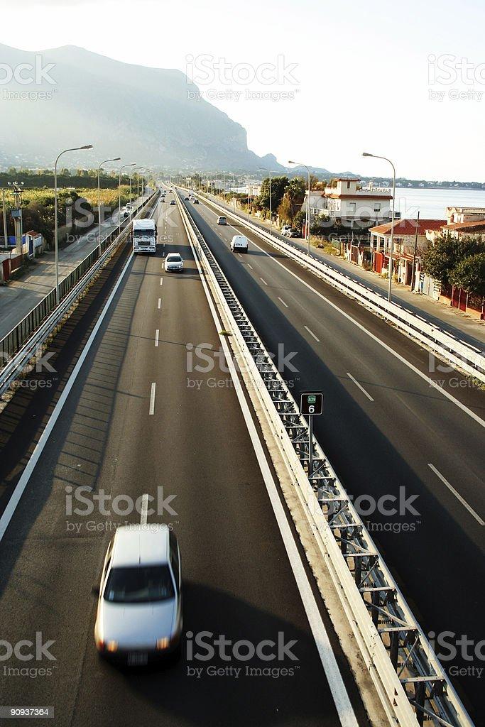 autostrada stock photo