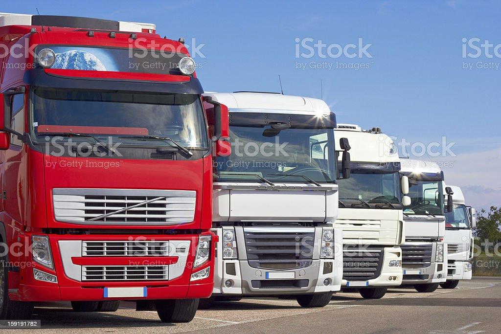 autotrucks stock photo