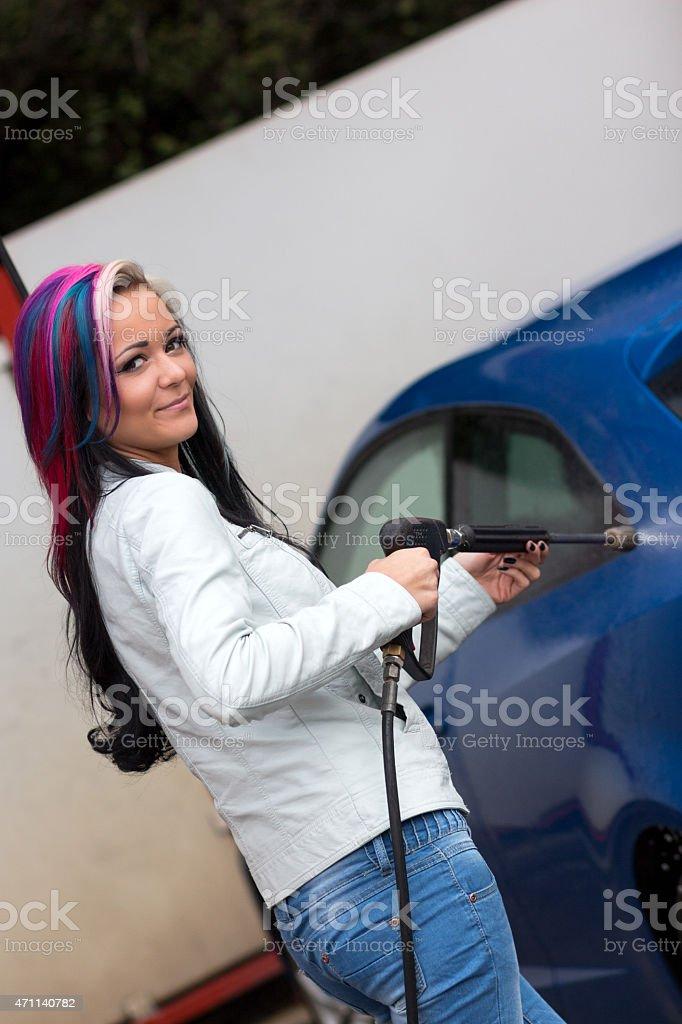 Autow?sche stock photo