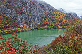 Autumn at the Danube Gorges