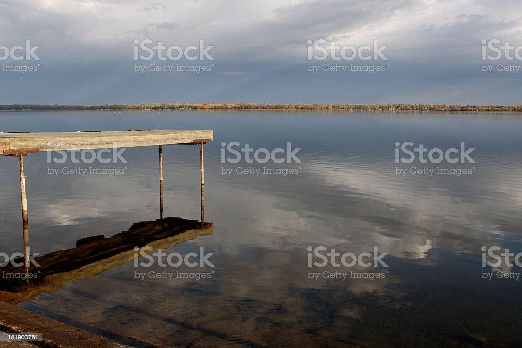 Autumn at the Lake 2 royalty-free stock photo