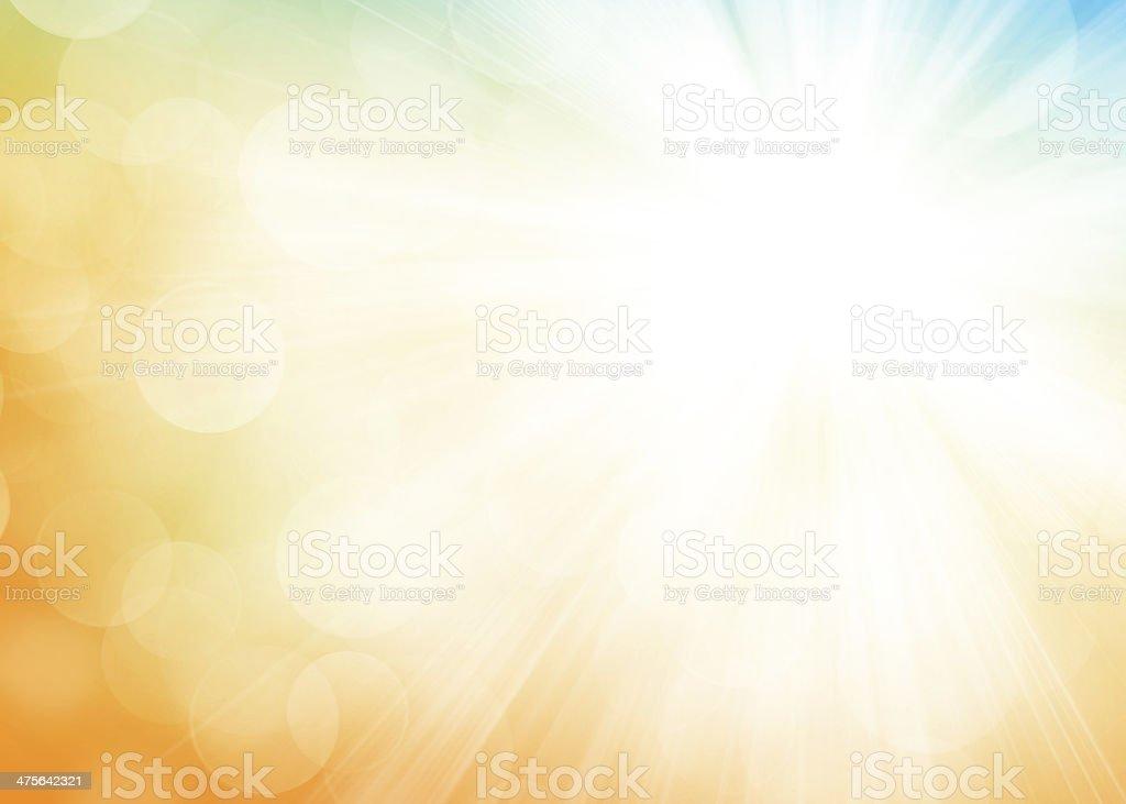 Autumn bokeh background stock photo