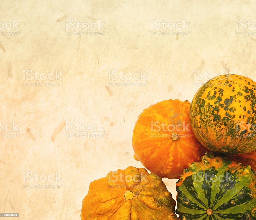 Autumn Card stock photo