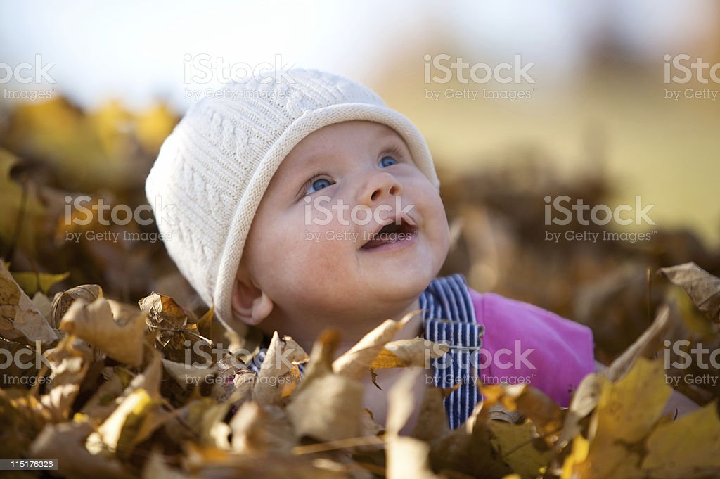 autumn child portraits royalty-free stock photo