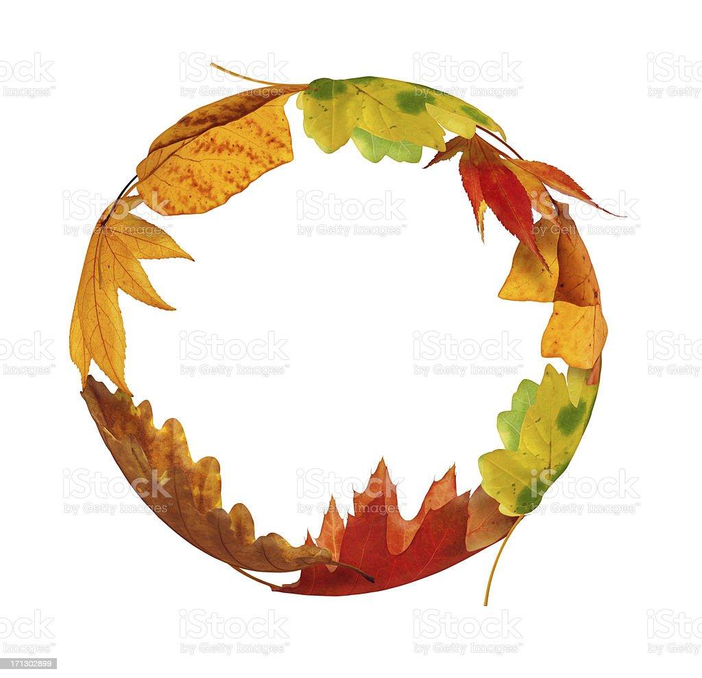 Autumn Circle royalty-free stock photo
