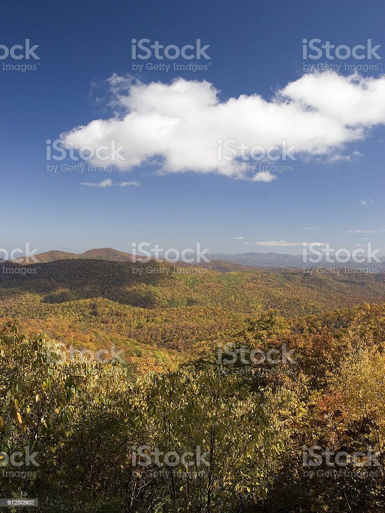 Autumn Cloud royalty-free stock photo