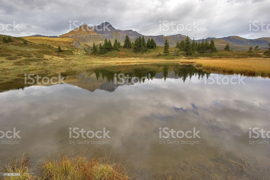 Autumn clouds royalty-free stock photo