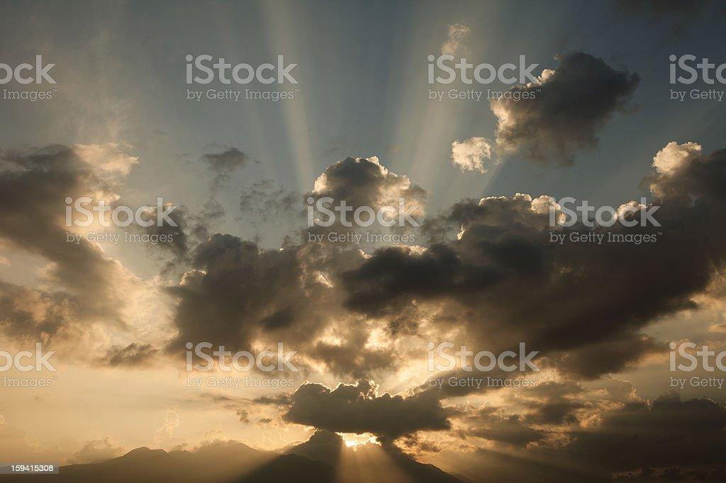 Autumn Cloudscape royalty-free stock photo