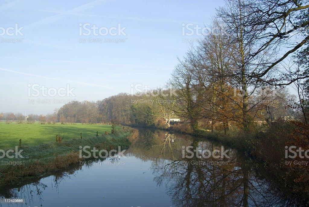 'Autumn Colors (Heigenbergerbeek, the Netherlands)' stock photo