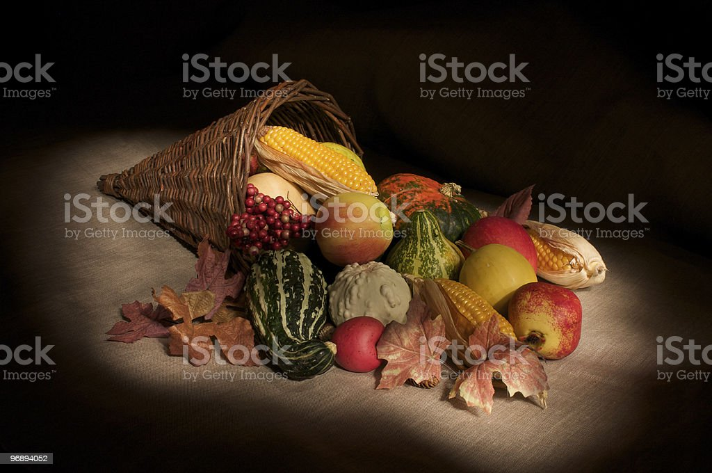 Autumn Cornucopia royalty-free stock photo