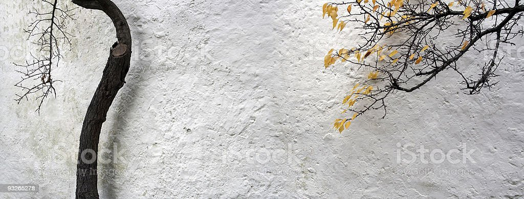 autumn cottage royalty-free stock photo