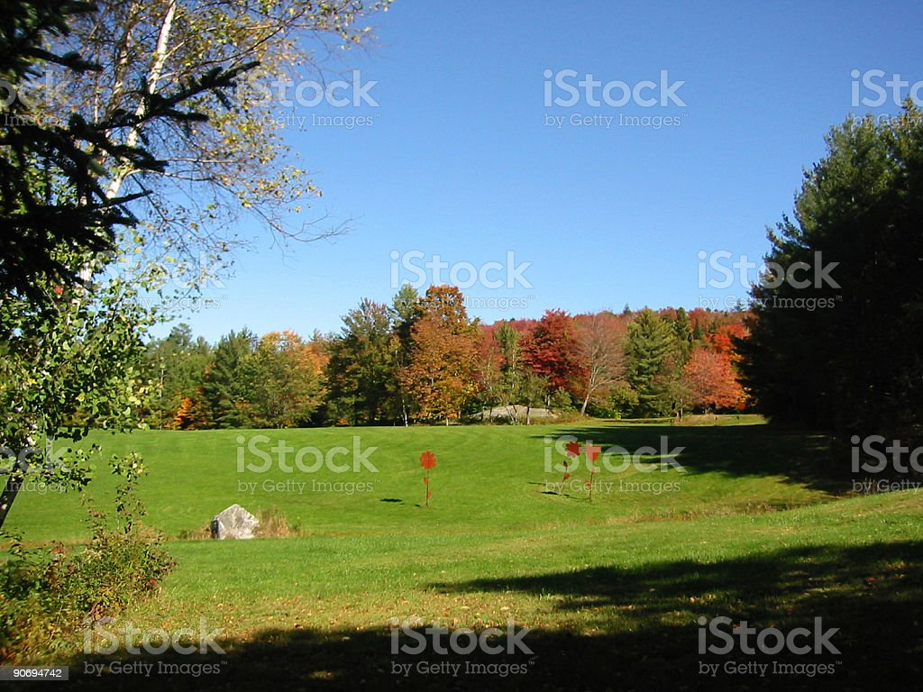 Autumn Day - Bright and beautiful royalty-free stock photo