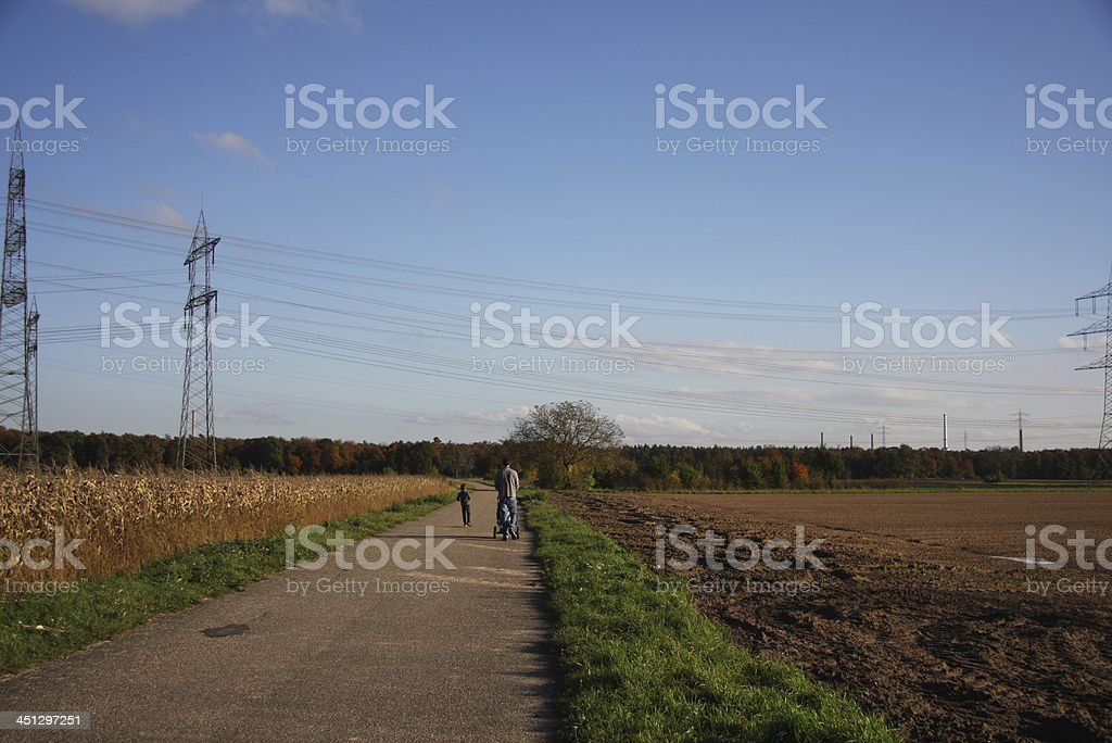 autumn day stock photo