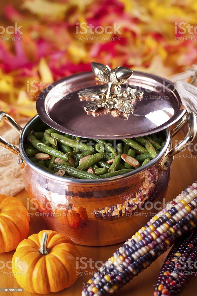 Autumn Dish stock photo
