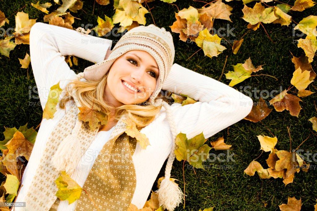 Autumn Dreams royalty-free stock photo