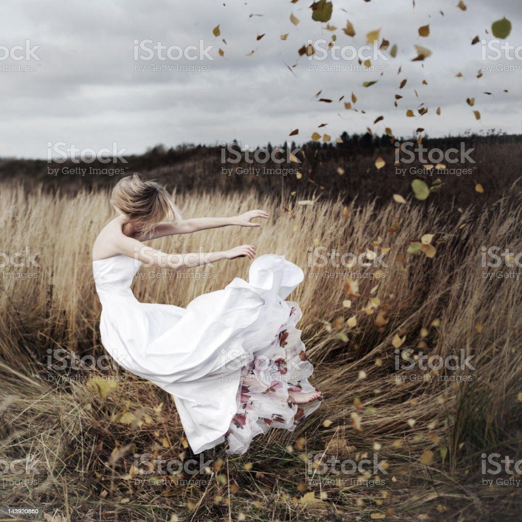 Autumn dreams stock photo