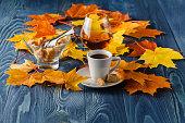 Autumn drinking time