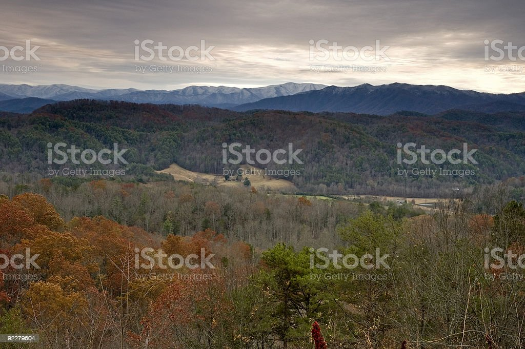 Autumn, East Tennessee stock photo