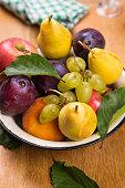 autumn fresh fruits
