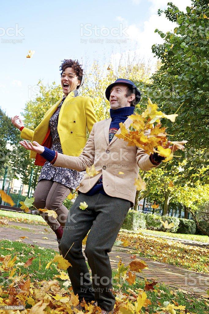 Autumn Fun royalty-free stock photo