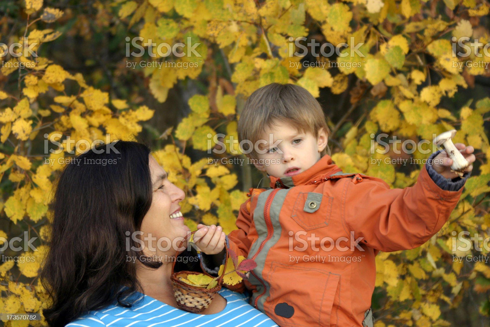 Autumn gift royalty-free stock photo