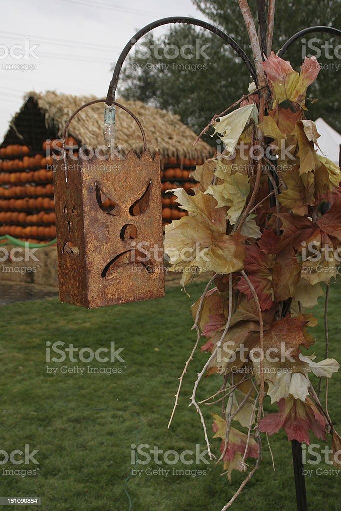Autumn / Halloween Decorations stock photo
