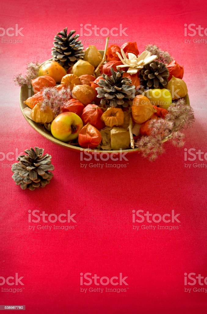 Autumn home decoration royalty-free stock photo