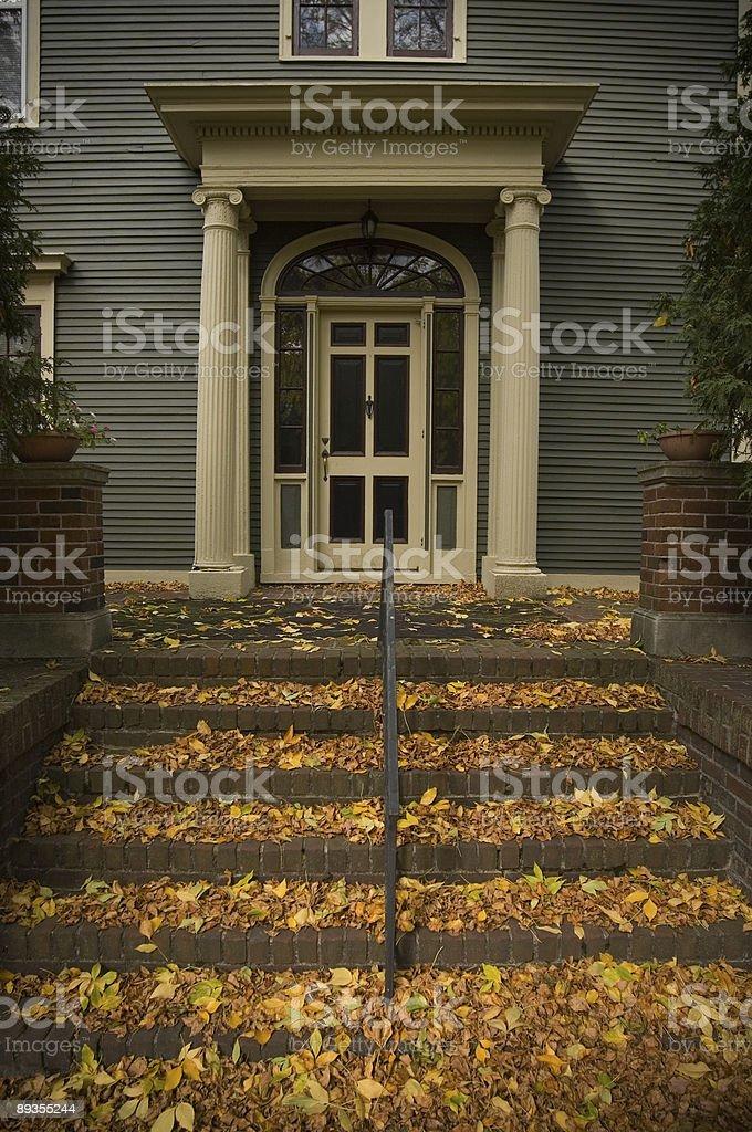 autumn home royalty-free stock photo