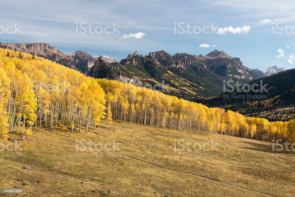 Autumn in Colorado High Country stock photo