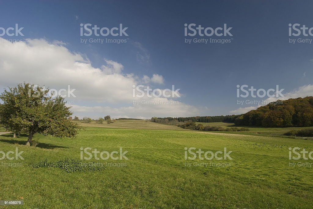 Autumn in Germany stock photo