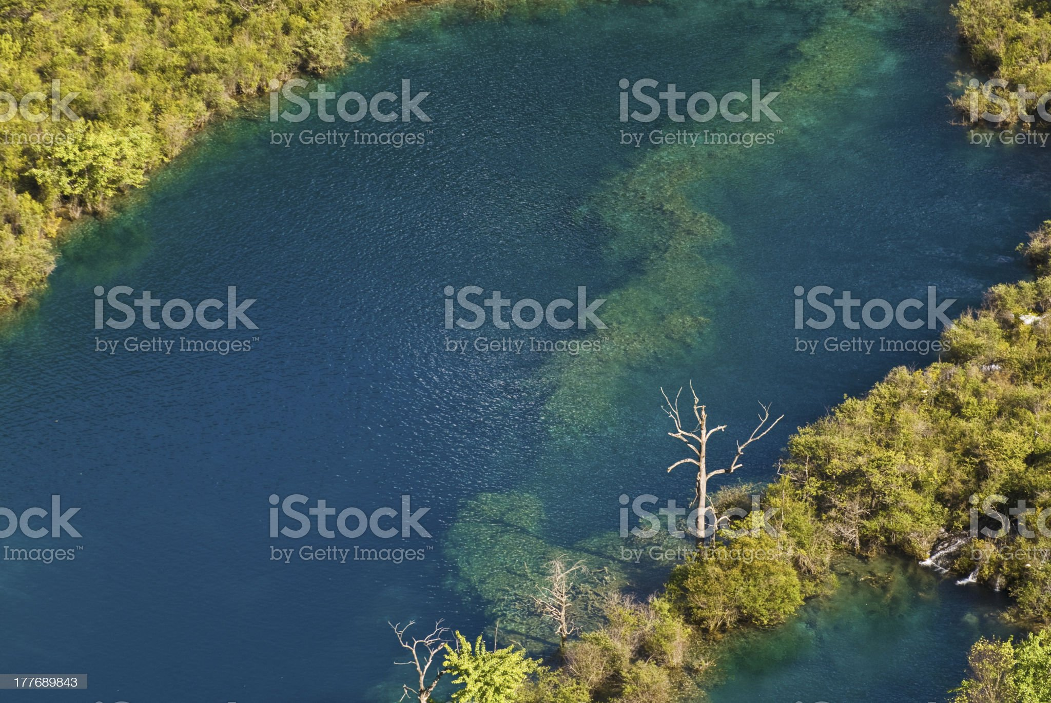 Autumn in Jiuzhaigou, China royalty-free stock photo