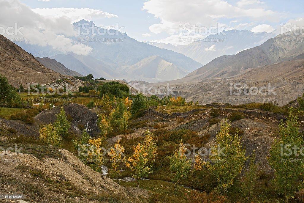 Autumn in mountains royalty-free stock photo