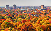 Autumn in New Haven Connecticut